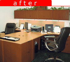 Changing office organization for better space management